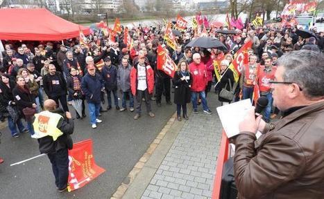 Social. Manifestation de soutien aux ex-salariés de Goodyear à Nantes | NPA 44 - revue de presse | Scoop.it