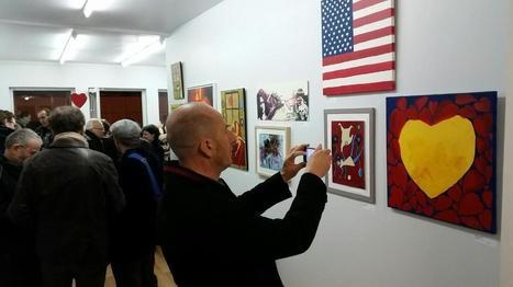 Reportage photo du 1er VERNISSAGE 9 février – Galerie Numéro 1 | Art Exhibition in Paris | Scoop.it