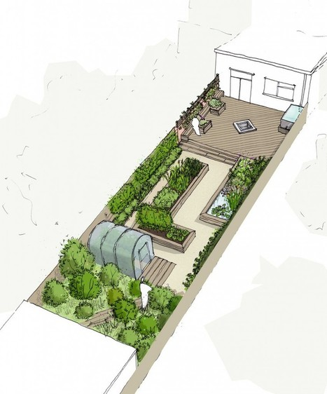 sidcup garden, south east london | Roundfield | Aquaponics World View | Scoop.it