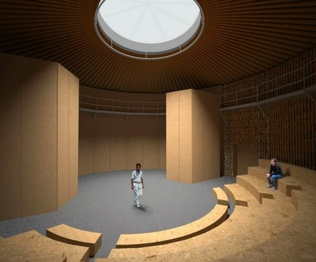 Check out this theater made almost completely out of recycled paper | Sustain Our Earth | Scoop.it