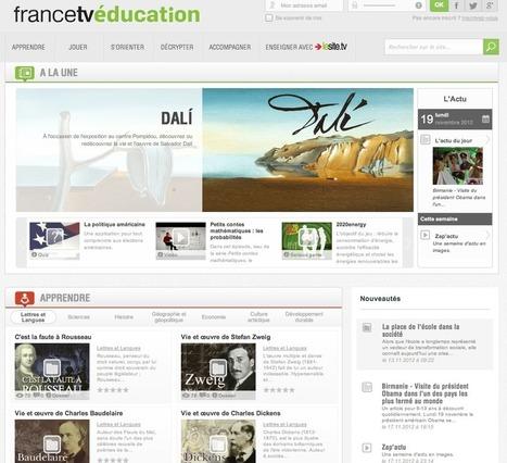 France TV Education : plateforme culturelle pour tous - Actualitté.com | revue de presse pour les lycéens | Scoop.it