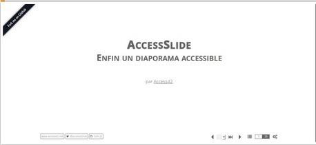 AccesSlide : créer des présentations accessibles | Mes ressources personnelles | Scoop.it
