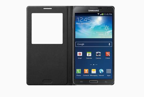 galaxy note 3 wireless charging S-view flip cover - designboom | architecture & design magazine | Technological Designs | Scoop.it