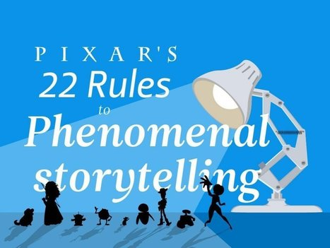 Pixar's 22 rules to phenomenal storytelling | Writing mag | Scoop.it