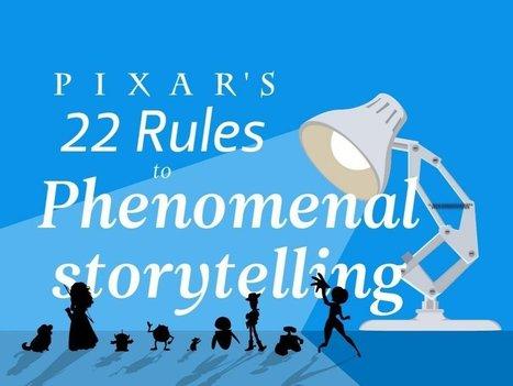 Pixar's 22 rules to phenomenal storytelling | Writing mag | Scoop.it