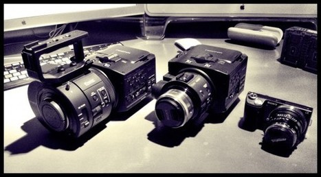 DSLR News Shooter   James Tonkin shoots Coldplay Live 2012 documentary with Sony NEX cameras   Sony Professional   Scoop.it