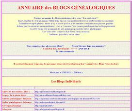 Annuaire des blogs généalogiques de Jean-Louis Garret | Histoire Familiale | Scoop.it