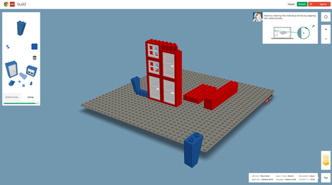 become a digital architect with google build: a chrome experiment with LEGO - designboom | architecture & design magazine | Learning for Tomorrow | Scoop.it