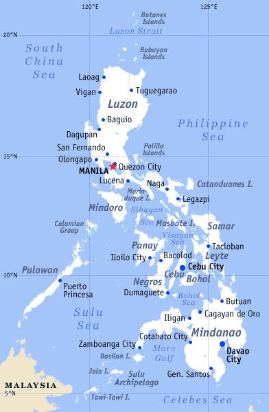 Tyfoon raast door de Filipijnen | aardrijkskunde | Scoop.it