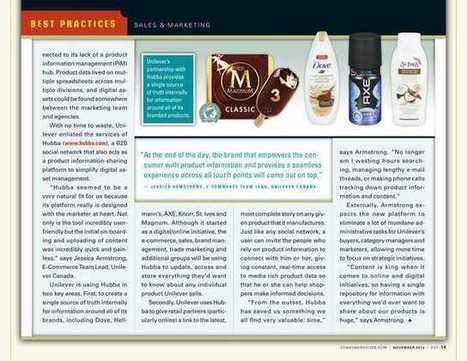 Consumer Goods Technology - November 2014 - Page 14 | Digital Love | Scoop.it