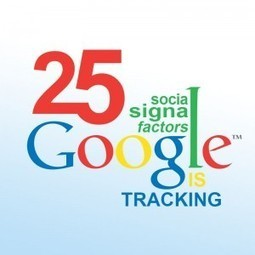 25 Social Signals Google is Tracking – Factors To Optimize for Higher Search Visibility | The Perfect Storm Team | Scoop.it