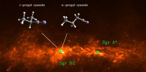 Trouvées dans l'espace, ces molécules sont-elles les premières briques de la vie ? | myScience | Scoop.it