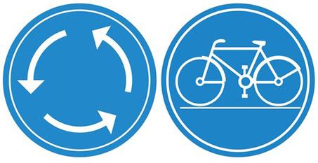 Les ronds-points à vélo – Est ce que les bandes cyclables sont la solution? | RoBot cyclotourisme | Scoop.it