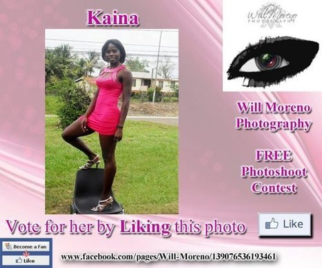 Kaina - Contestant to win a FREE Photoshoot with Will Moreno | Belize in Photos and Videos | Scoop.it