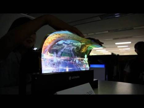 LG's 18-Inch Flexible Display in Action Is What the Future Looks Like | Digitally yours | Scoop.it