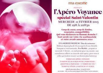 L'Apéro Voyance spécial Saint Valentin 2015 chez Ma Cocotte | Arts divinatoires et voyance | Scoop.it