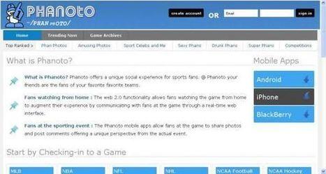 Phanoto.com – Social Networking For Sports Fans | Phero1 | Scoop.it
