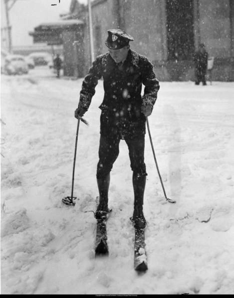 "AJC Photo Vault: Postal put boys on skis 1940s—The biggest snow in... | Buffy Hamilton's Unquiet Commonplace ""Book"" 