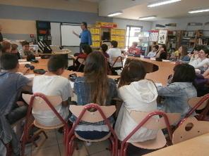 Collège Victor Hugo : une rencontre au sommet | Collège Victor Hugo (Carmaux) | Scoop.it