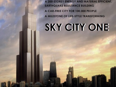 Details On Sky City, Worlds Tallest Building To Be Built In Two Months | Vertical Farm - Food Factory | Scoop.it