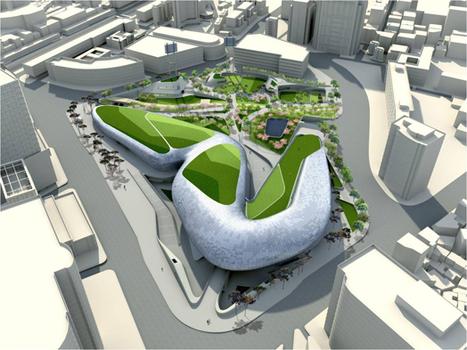 India Art n Design Global Hop : Dongdaemun Design Plaza   Architecture on the world   Scoop.it