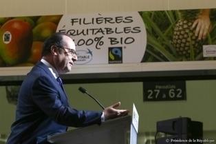 François Hollande a inauguré la Halle Bio du Marché International de Rungis | La Bio en question | Scoop.it