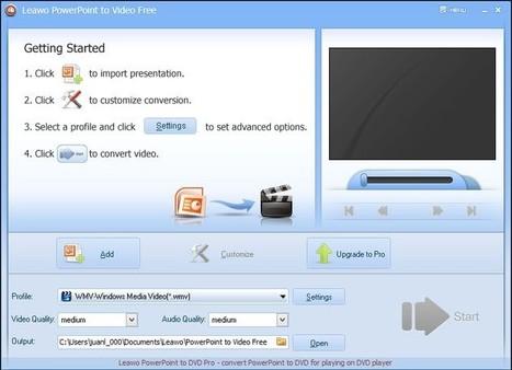 Convertir une présentation PowerPoint en vidéo: 2 programmes gratuits   Time to Learn   Scoop.it