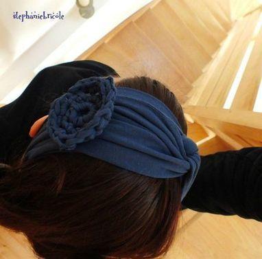 Comment faire un bandeau pour les cheveux avec un tee shirt ... | Fait maison | Scoop.it