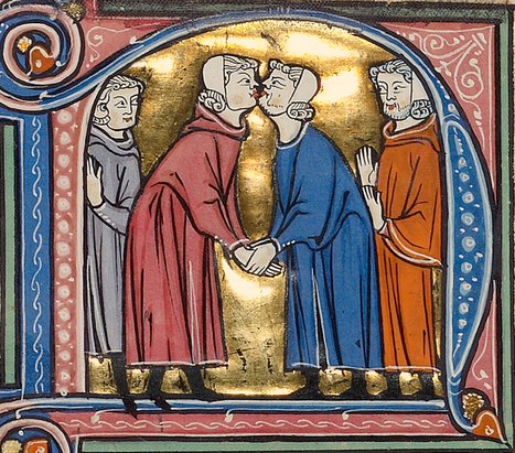 Touching the Past : The Hand and the Medieval Book -The Getty Museum- | L'actu culturelle | Scoop.it
