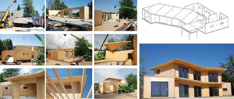 Ageka : construire en panneaux boismassif | Ageka les matériaux pour la construction bois. | Scoop.it