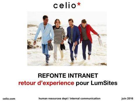 Retour d'expérience Lumsites chez Celio   Google Apps  (FR)   Scoop.it