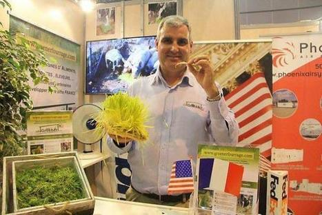 Space 2014. Hugues Chalopin vend de l'herbe fraîche - Ouest France Entreprises | Future of Agrifood - 2030 | Scoop.it