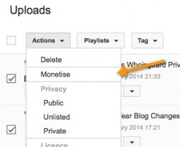 How to Enable Adsense Ads on Uploaded YouTube Videos | RupeePay | Scoop.it