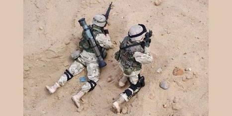 Iraqi War Action Figures 3rd Infantry Division 1/6 Scale | Military Shopping | Scoop.it