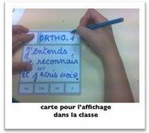 Des cartes d'apprentissages, par Elise Veux - Les Cahiers pédagogiques | Actualités du site du CRAP-Cahiers pédagogiques | Scoop.it