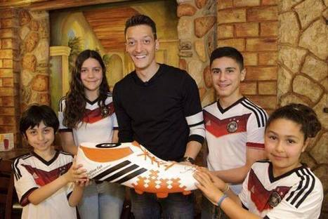 German Soccer Player Donates World Cup Prize Money to Sick Kids in Brazil | Oktoberfest! | Scoop.it