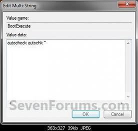 Check Disk - Reset - Windows 7 Help Forums | PC Hints and Tips | Scoop.it