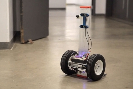 These mini robot scouts can aid rescuers with 3D thermal imaging | MECHANICAL DESIGN | Scoop.it