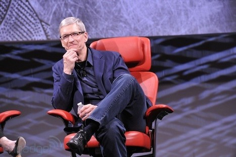 Tim Cook and Larry Page reportedly chat about patent war | An Eye on New Media | Scoop.it