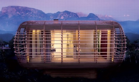 Sustainable Modular House design in Italy by Studio Aisslinger | sustainable architecture | Scoop.it