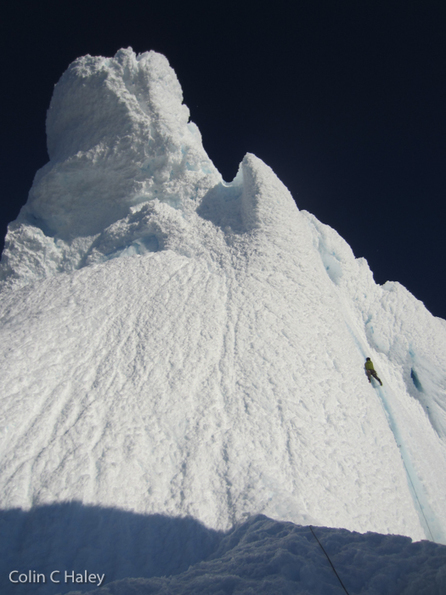 Marc-André Leclerc Solos Corkscrew on Cerro Torre | Sail and climb in the Arctic | Scoop.it