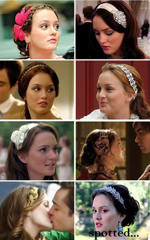 The Best Holiday Gift for a Gossip Girl Fan: Blair Waldorf Headband Set | My favorite leisure stuff | Scoop.it
