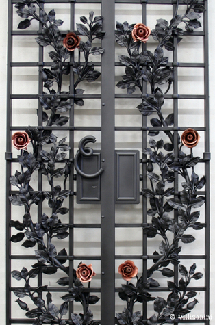 Wrought iron doors between security and design | I go out to write a post and go back | Villi Zanini Wrought Iron | Scoop.it