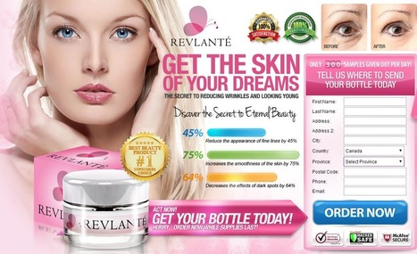 Revlante Review - GET FREE TRIAL SUPPLIES LIMITED!!! | skin care lomania | Scoop.it
