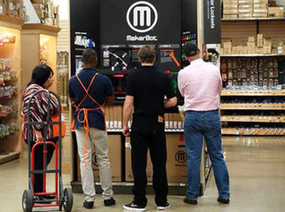 Home Depot Starts Selling MakerBots In-Store | Inside3DP.com | 3D Printers | Scoop.it