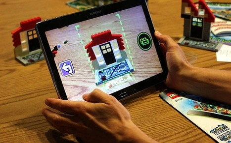 Lego creates bricks that can be imported into digital games - Telegraph | Laurinda's curated Kids Interactive Articles | Scoop.it
