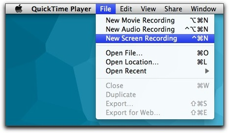 OS X Lion: Screen Recording in QuickTime X | TMO Quick Tip | The Mac Observer | Podcasting and screencasting | Scoop.it
