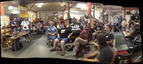 Twitter / raster: 3D Printing Camp! #3dpcwi ... | 3D design learning | Scoop.it
