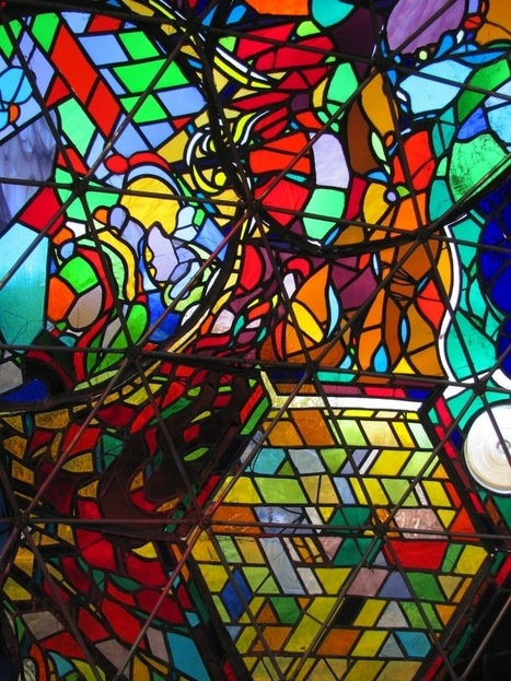 Stunning Colors Glow Inside 7-Foot Stained Glass Dome - My Modern Metropolis | Stained Glass | Scoop.it