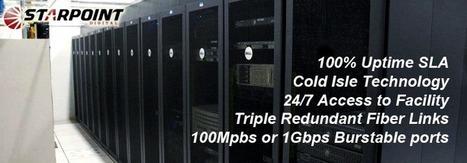 Data center Connected via Multiple Diverse Path Gigabit Fiber Up-links for the highest level of redundancy possible.   Starpoint Digital   Scoop.it